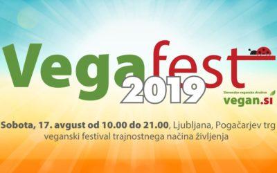 Vabljeni, da se srečamo na Vegafestu, v soboto 17.8.2019
